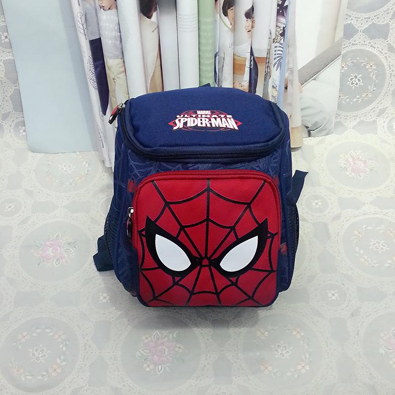 New Arrivals Hot Cartoon Spider Backpacks For Kids Children School Bags  Primary Backpack Boy mochila 7b2dcf5a64