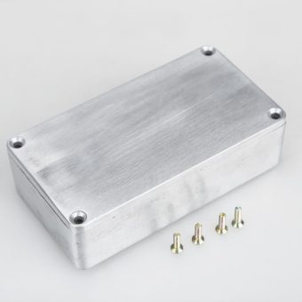 1590B Style Effects Pedal Aluminum Stomp Box Enclosure for Guitar (Intl)