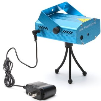 AOBO Lighting MINI Disco DJ Stage R&G Xmas Party Show Club BarLaser Light Lighting Projector M01 - Intl