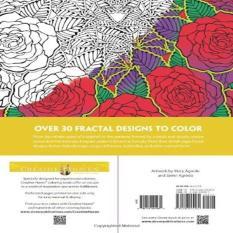 Creative Haven Nature Fractals Coloring Book Adult