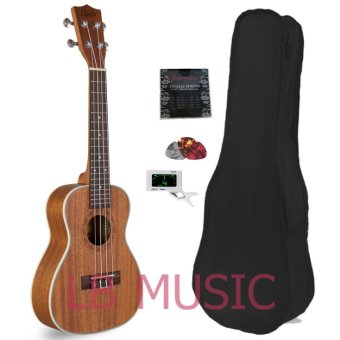 Davis Concert Mahogany with Digital tuner Ukulele Ukelele (Natural)