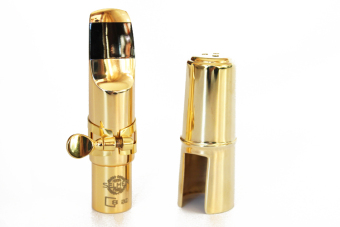 Eb Metal Golden Alto Saxophone Mouthpiece Sax Accessories - intl