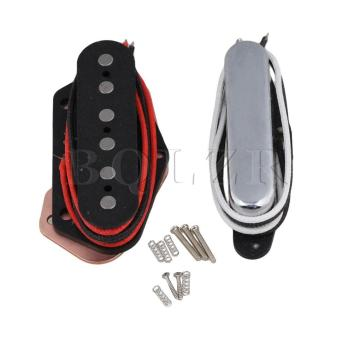 Electric Guitar Closed Neck Pickups and Bridge Pickups Set of 2Silver