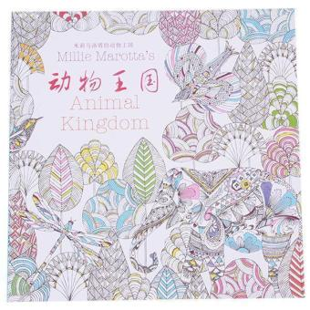 Hang qiao treasure hunt mini coloring book of secret ghang Coloring book for adults lazada