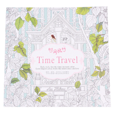 PHP 300 Hanyu Time Travel An Inky Treasure Hunt And Coloring Book 24 Pages ChinesePHP300 HengSong Secret Garden