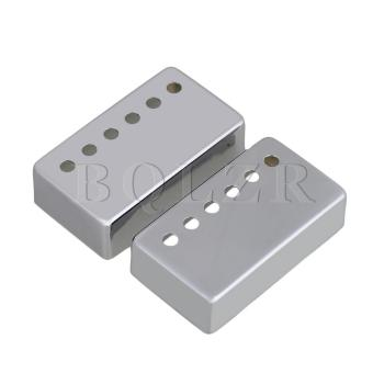 Humbucker Pickup Covers for Guitar Chrome