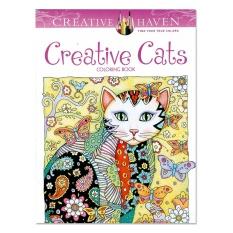 PHP 452 Rorychen 24 Pages 185 21CM Secret Garden Creative Cats Color