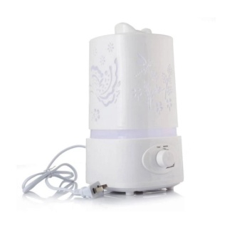 5 in 1 Ultrasonic Aroma Humidifier Aroma Oil Diffuser Air PurifierIoniser LED Light Lamp 1.5L
