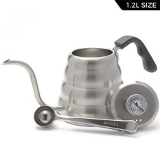 Buy sell cheapest bocha best quality product deals philippines store bocha pour over drip coffee u0026amp tea kettle stainless steel with built in fandeluxe Image collections