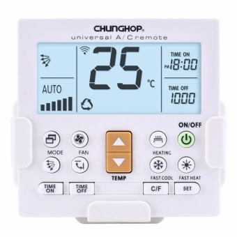 CHUNGHOP K-650E Universal LCD Air-Conditioner Remote ControllerWith Bracket - intl