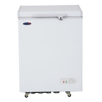 Fujidenzo Fc-04 Adf 4 Cu.Ft Solid Top Chest Freezers (White)