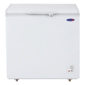 Fujidenzo Fc-06 Adf 6 Cu.Ft Solid Top Chest Freezers (White)