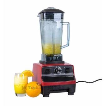 G@Best 2L Commercial 3HP Blender Mixer HEAVY DUTY Ice Crusher 2200W(Red)