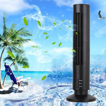 GMY 2-Speed USB Tower Fan (Black)
