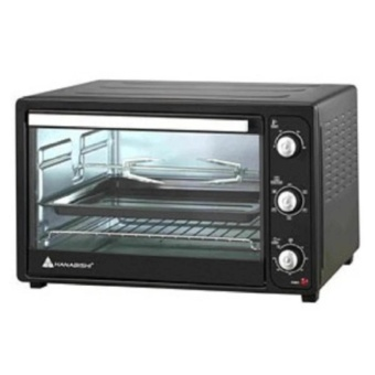 Hanabishi HEO-45SS 45L Electric Oven (Black)