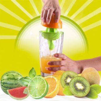 Hand Manual Orange Lemon Juicer Squeezer device Citrus Juicer -intl