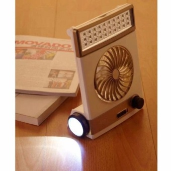 High Quality Rechargeable 3 in 1 Solar Light Fan