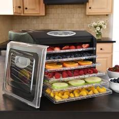 MAGIC MILL Pro Food Dehydrator 6 Drying Racks 8 Digital Preset Temperature Se