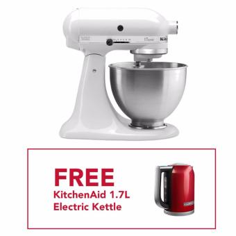 Kitchenaid 4 5 Qt Classic Mixer 220 Volts With 1 Year Warranty With Free Kitchenaid Electric