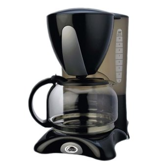 Kyowa KW-1205 Automatic Ultimate User-friendly Coffeemaker 1.2Lwith Anti-Drip Function (Black)