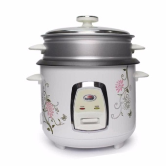 Kyowa KW-2072 Rice Cooker with Steamer 1.2L (White)