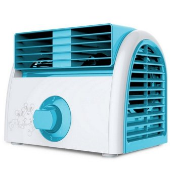 Mini Aire Acondicionado 220V Portable Air Conditioner (Blue)   Intl