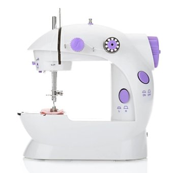 Mini Sewing Machine Double Speed Automatic Thread with Light EU PLUG - intl