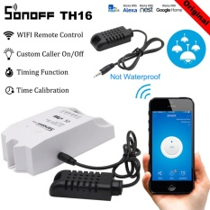 Sonoff TH16 Temperature and Humidity Sensor WiFi Control Smart Switch Intelligent Controller Intelligent Home Remote Switch