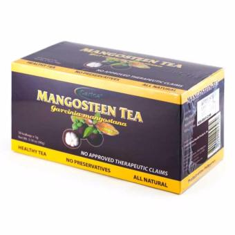 Carica Mangosteen Tea Box of 30 Tea Bags 3g