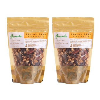 Greenola Carrot Cake Granola Set of 2