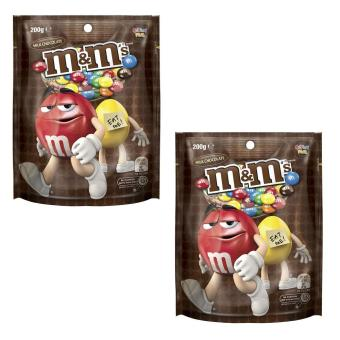 M & M's Milk Chocolate 200g - Set of 2
