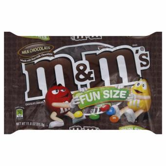 M&M'S Milk Chocolate Candy Fun Size 11-Ounce Bag