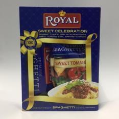 Royal Spaghetti 900g With Filipino Style Tomato Spaghetti Sauce 1000g