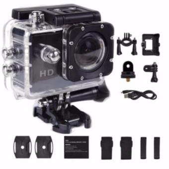 1080P Sports Cam 12MP HD DV Action Waterproof 30M Sports Camera