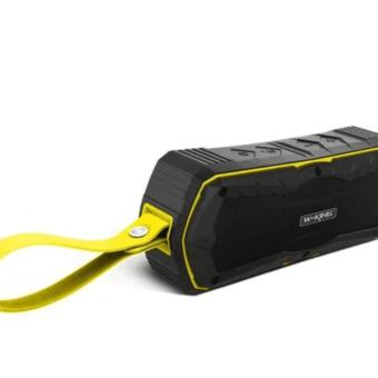 2017- W-King S9 Outdoor Waterproof Wireless Speaker (Yellow)