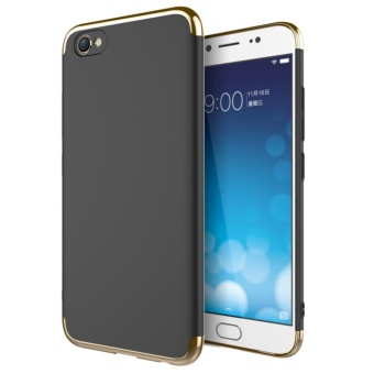 3 in 1 PC Protective Back Cover Case For VIVO V5 Plus (Black) - intl
