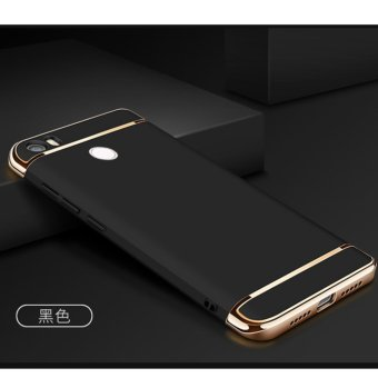 3 in 1 PC Protective Back Cover Case For Xiaomi Mi Max (Black) - intl