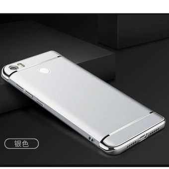 3 in 1 PC Protective Back Cover Case For Xiaomi Mi Max (Silver) - intl