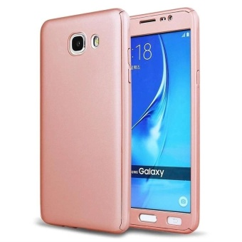 360 Full Body Coverage Protection Hard Slim Ultra-thin Hybrid Case Cover & Skin with Tempered Glass Screen Protector for Samsung Galaxy J7 Prime - intl