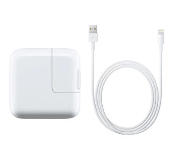 Apple 10W Charger with Lightning Cable for iPhone 5/5c/5s/6 iPadAir / 4 / mini