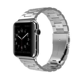 Apple Watch Band Stainless Steel Metal Watch Strap ReplacementBracelet for Apple iWatch 38mm - intl