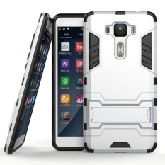 ... Dual Layer Shockproof Stand Protective Cover Grey - intlPHP540. PHP 540