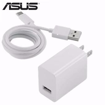 ASUS 10w 1A Charger Original/Authentic w/ Micro USB Cable for AsusMobile Phone etc (White)