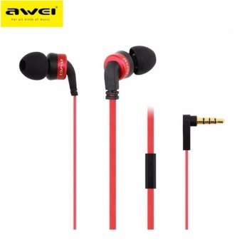 Awei ES13i In-Ear Earphone Noise Isolation (Red)
