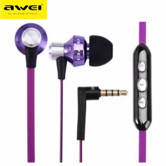 Awei S950vi Noise Isolation In-ear Earphone with 1.2m Cable MicVolume Control
