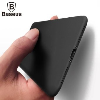 Baseus Ultra Slim Case Cover Super Thin Clear Transparent BackCover for Iphone 7 Plus - intl