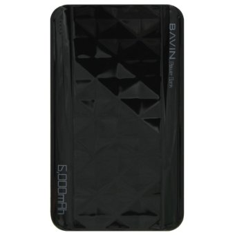 Bavin 6000mah Diamond Power Bank (Black)