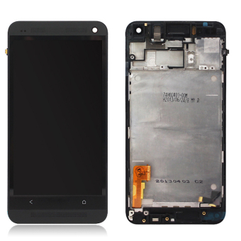 Bluesky Black For HTC ONE M7 LCD Display Touch Screen DigitizerAssembly with Frame and Tools Replacements - Intl