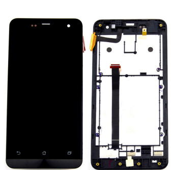 Bluesky For Asus zenfone 5 LCD Display touch screen with digitizer glass assembly + Bezel Frame + tools - Intl