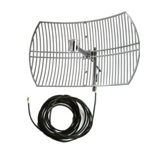 Bolt Grid Antenna 3G/4G/LTE 20 dbi with 10-Meter Wire for B593,B315 Only